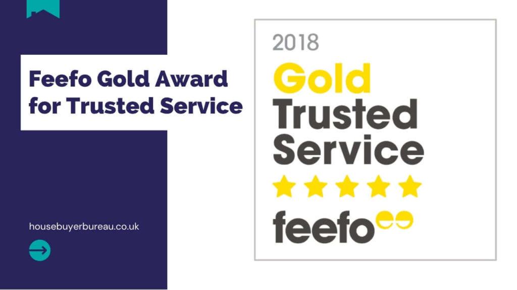 Awarded Feefo Gold Trust