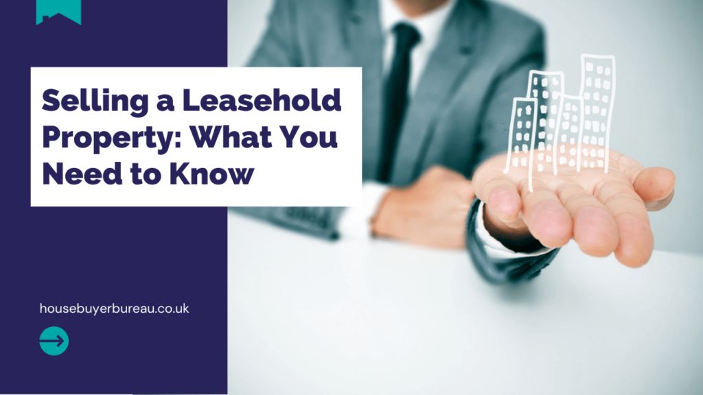 a man holding a house in his hand - a blog about selling leasehold property