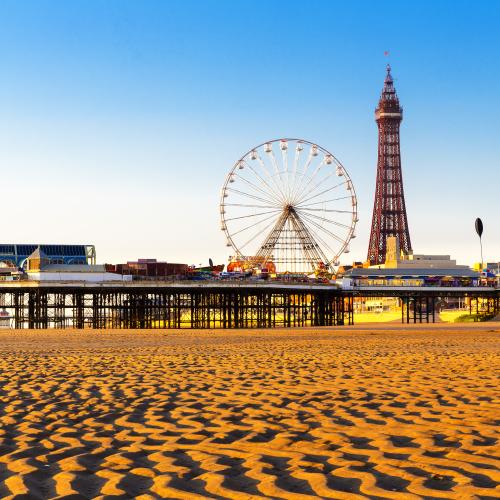Blackpool skyline