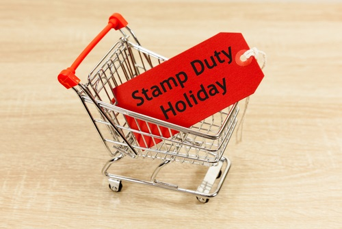 the words stamp duty holiday in a trolley - a guide to the stamp duty holiday