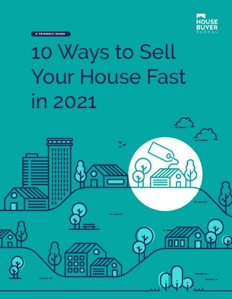 Cover for downloadable 10 Ways to Sell your house fast