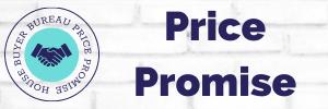 Circular badge showing HBB price promise